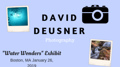 David Deusner Presents New Photography Exhibit in Boston