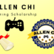 Allen Chi Announces New Gaming Scholarship and Sponsorship Program