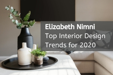 Elizabeth Nimni to Highlight Top Interior Design Trends for 2020