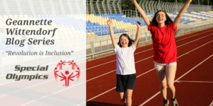 "Geannette Wittendorf Releases Series Celebrating Special Olympics & Their ""Revolution on Inclusion"""